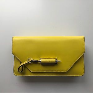 Mackage ZoeyS5 Lemon Leather Crossbody Bag